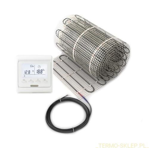 Zestaw Dh Pack Mata Grzewcza Podłogowa 150wm² Jednostronnie Zasilana Powierzchnia 1 15 M² I Programowalny Regulator Temperatury